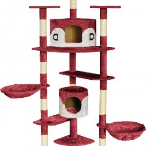 Kratzbaum Premium rot