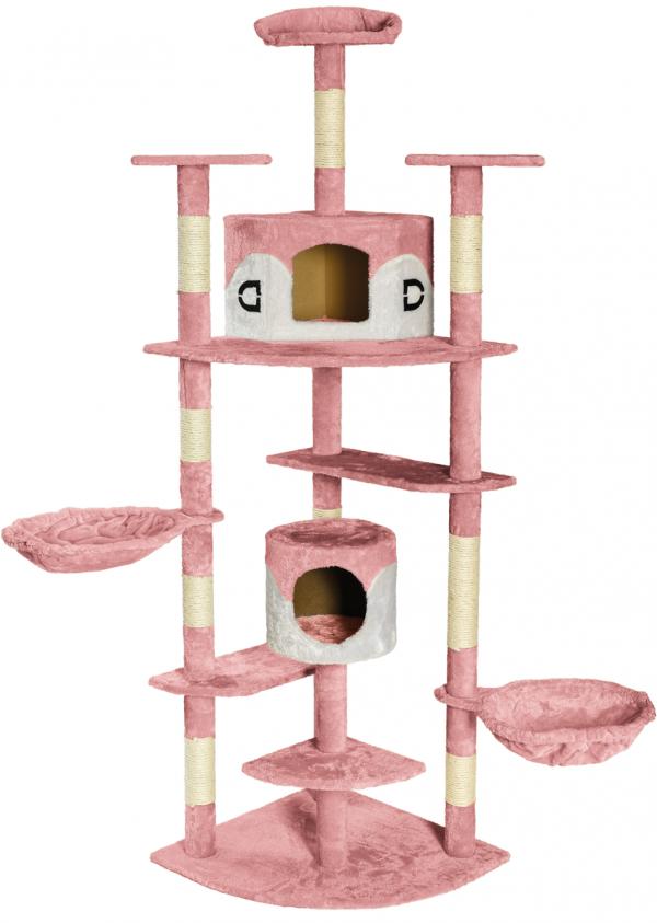 Kratzbaum Premium rosa