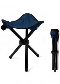 Campinghocker blau