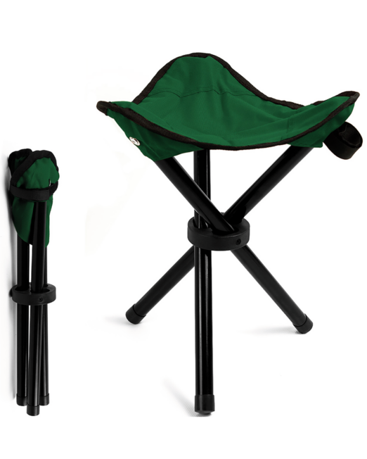 Campinghocker grün