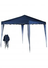 Pavillon klappbar blau