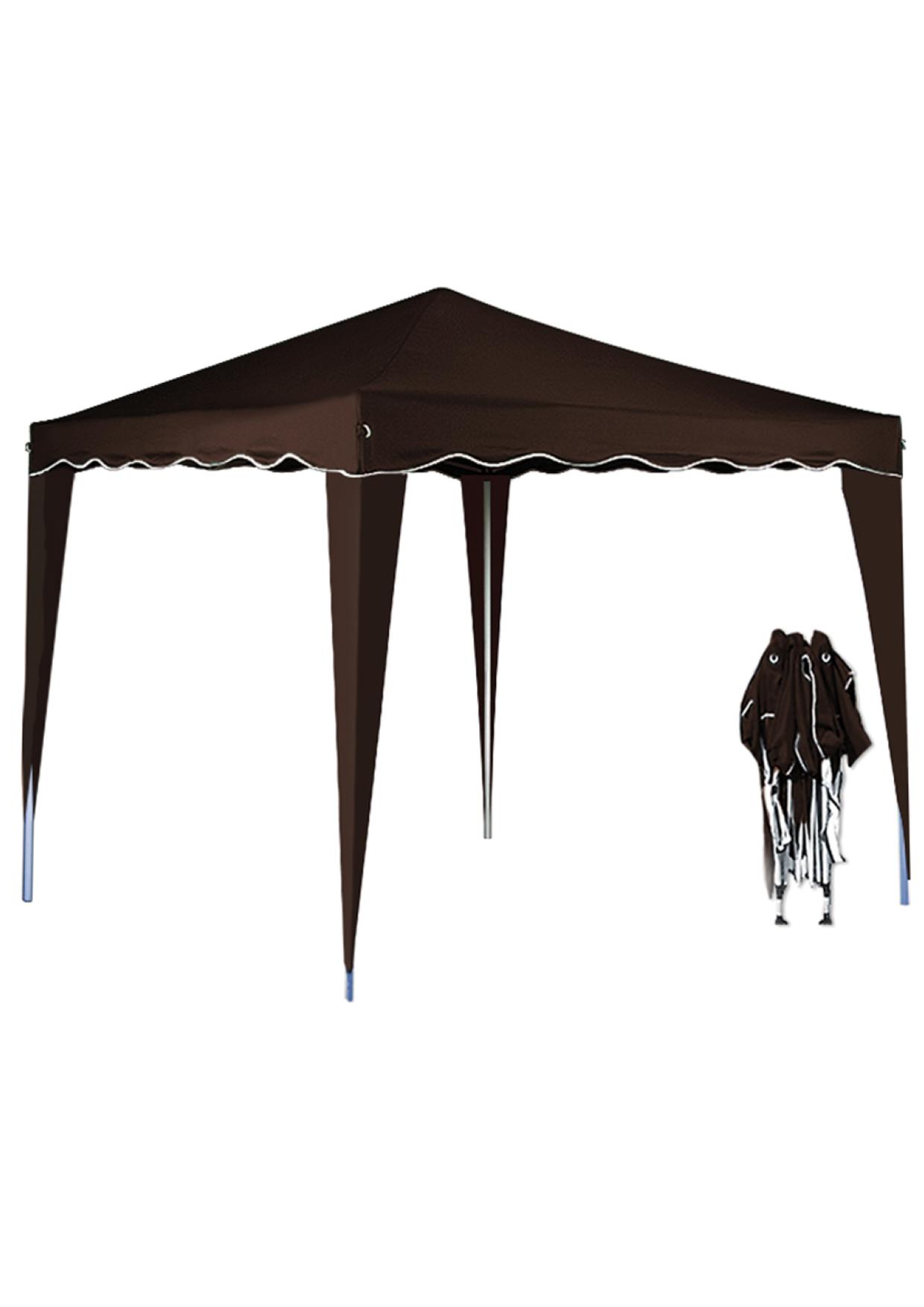pavillon klappbar braun dietschys gmbh. Black Bedroom Furniture Sets. Home Design Ideas
