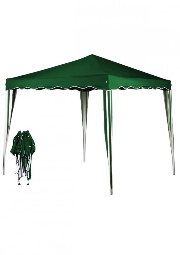 Pavillon klappbar grün
