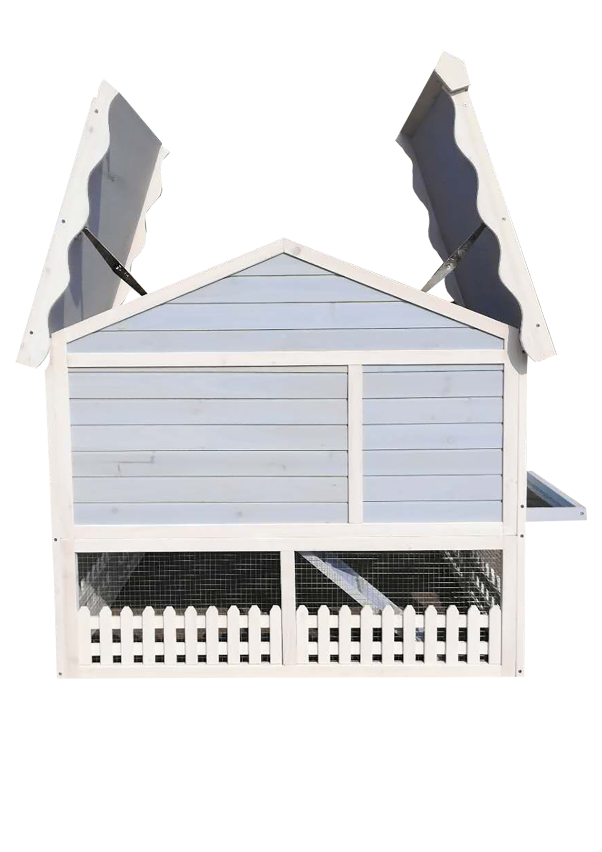 kaninchenstall diego grau dietschys gmbh. Black Bedroom Furniture Sets. Home Design Ideas